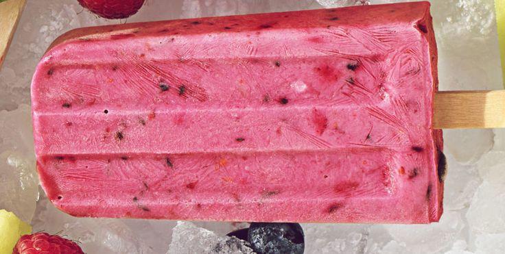 Czarne jagody na patyku | Qulinarnie