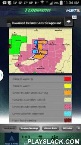 Tornadoes WLWT 5 Cincinnati  Android App - playslack.com , This is your real-time feed of tornado activity straight from the WLWT News 5 newsroom in Cincinnati. Carry live updates, Doppler, watches and warnings, maps, videos, and checklists with you on the go. When tornadoes threaten the area, you'll be prepared and connected to what's going on around Cincinnati, Northern Kentucky, Indiana, Warren, Butler, Boone and more. Features- • Maps showing real-time watches and warnings, Doppler…
