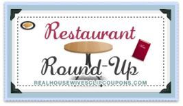 Restaurant Deal Roundup for 1-25  Free Honeybaked Ham Classic Still Available! - http://www.thecouponingcouple.com/restaurant-deal-roundup-for-1-25-free-honeybaked-ham-classic-still-available/  Check Out the Restaurant Deal Roundup for 1-25 If you're going to be out this week and need to grab a meal or quick snack, check out the restaurant deal roundup for 1-25 that Kathryn posted over at Real Housewives Clip Coupons! The Buce di Beppo and Honeybaked offers are still.