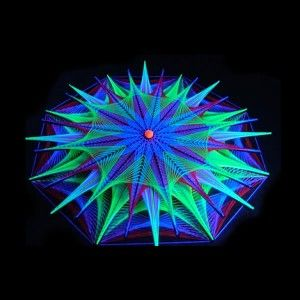 string art | ... fluor constelation string art