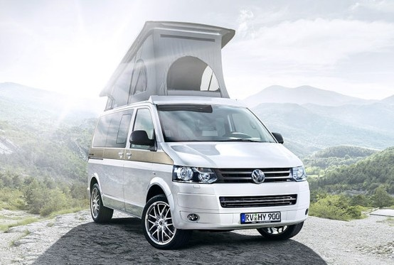 "The new Hymer VW T5 Camper ""Cape Town"""