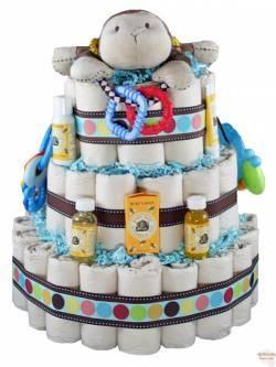 cloth diaper cake instructions
