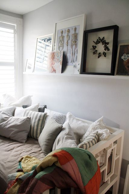 Window Day Bed from west elm. perfect for tiny bedroom!