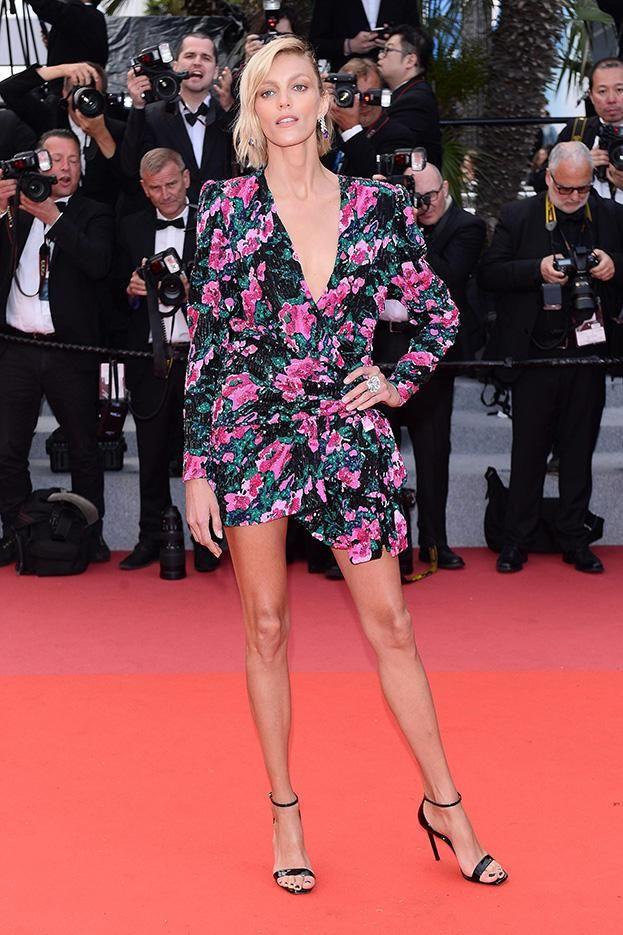 Anja Rubik Gra Nogą Na Czerwonym Dywanie W Cannes Pudelek