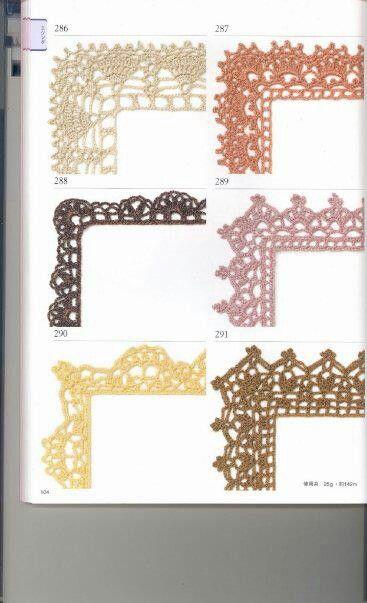 Crochet edgings & graphs