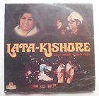 Lata Kishore Live At London Wembley Arena Bollywood Vinyl Lp Record. lr-326