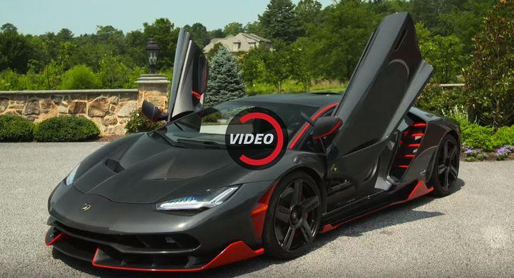 Driving The Lamborghini Centenario Is As Insane As You'd Expect