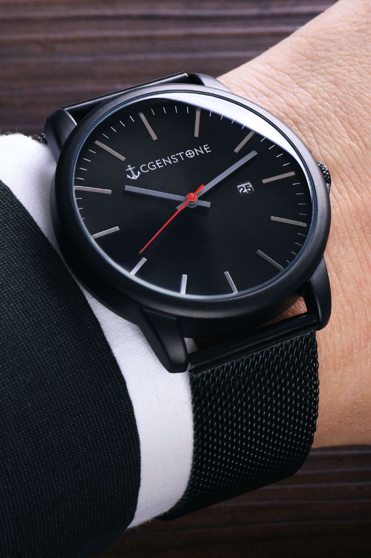 Reward Your Wrist With The Iconic Black Watch High Quality Watch At Affordable Price Minima In 2020 Mens Watches Affordable Luxury Watches For Men Affordable Watches