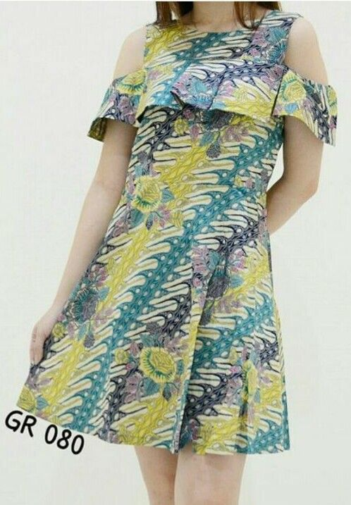 Dress, top, blouse, batik indonesia