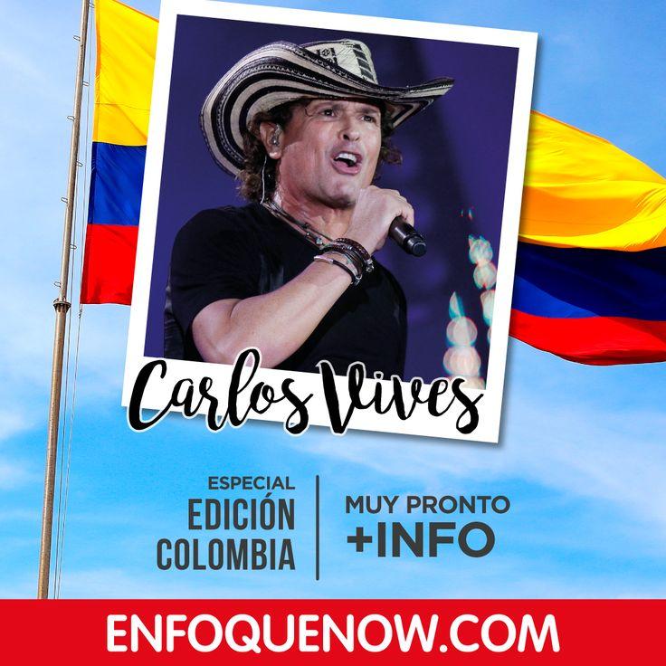 Conocido como Carlos Vives y famoso en América Latina y otras partes del mundo por mezclar música colombiana como el vallenato y la cumbia con pop y rock. Comparte si haz bailado con su música. #CarlosVives #Vallenato #OrgulloColombiano #Latino #Enfoque