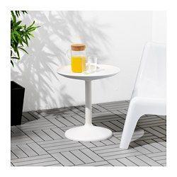IKEA - IKEA PS SANDSKÄR, Brettbord, utendørs, , Du kan også bruke den avtagbare bordplaten som serveringsbrett.Materialene i dette møbelet gjør det vedlikeholdsfritt.Enkel å holde ren – tørk av med en fuktig klut.