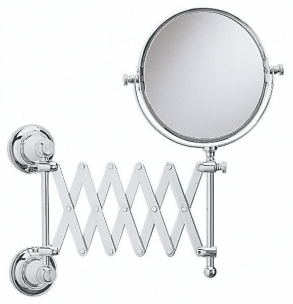 Buy Heritage Chrome Clifton Extendable Mirror   For Only + VAT. Browse Our  Range Of Heritage Products Online Or Call Our Team For More Information.