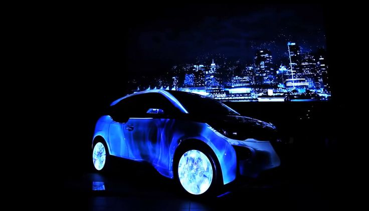 BMW /// Video Mapping sur voiture