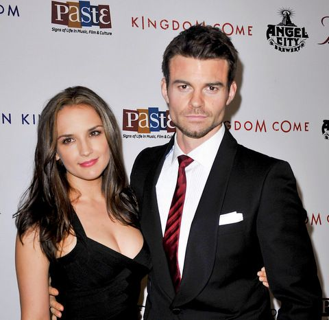 Rachel Leigh Cook and Daniel Gillies first time parents!