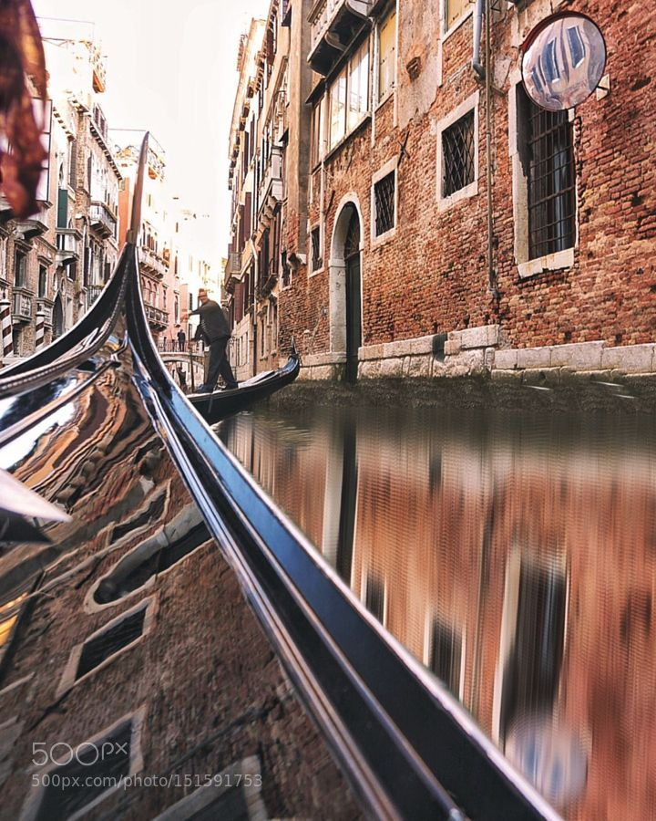 Venezia by dozkan1 City and Architecture Photography #InfluentialLime