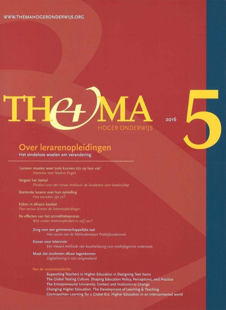Thema : tijdschrift voor hoger onderwijs en management. 23(2016)5