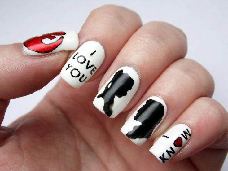 nail art star wars - Google Search - Best 25+ Star Wars Nails Ideas On Pinterest Diy Nails Tutorial