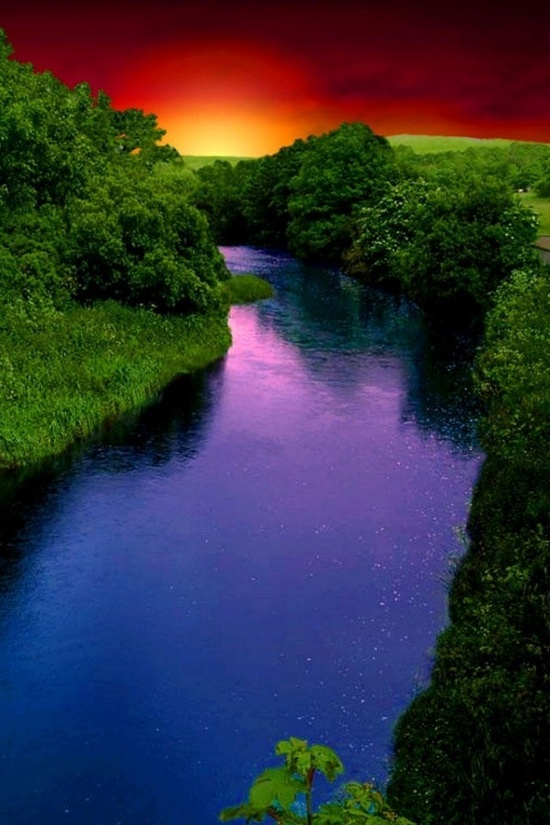 Rainbow River in Dunnellon, Florida.