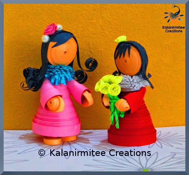 Quilled Miniatures - Visit http://www.kalanirmitee.com