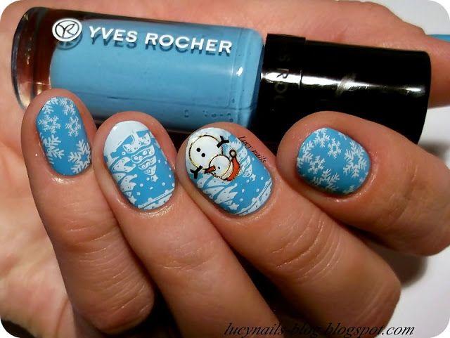 Yves Rocher nr  61 Bleu Nigelle