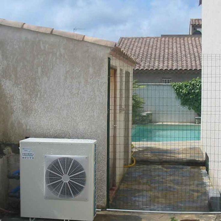 Installation d 39 une pac piscine chez un particulier de l - Installation pac piscine ...