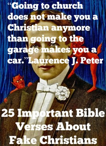 Bible Verses About Fake Friendship : Best ideas about fake christians on