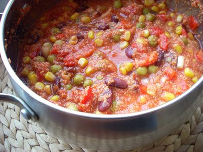 Tani weganizm*: Chili con okara