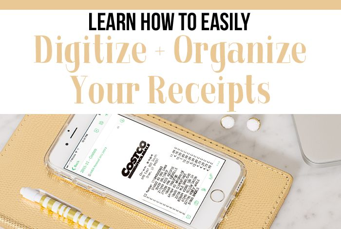 Barbara from Simplify Days joins us today to walk us through her process to digitize and organize receipts. Her step-by-step instructions are so helpful!