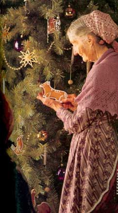 Tasha Tudor used to hand cut her gingerbread cookies in her favorite shapes, like Corgis!!