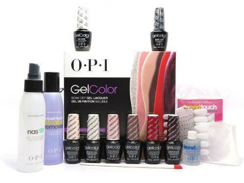 OPI Gelcolor Gel Nail Polish Iconic Starter Kit 2014 Set OPI http://www.amazon.com/dp/B00J1PY6QE/ref=cm_sw_r_pi_dp_cVgeub03F72AT