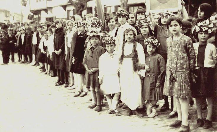 BORNOVA 1929 YILI 23 NİSAN BAYRAMI.