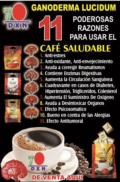 Cafe ganoderma sirve para bajar de peso