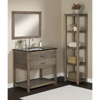 Elements 36 Inch Granite Top Single Sink Bathroom Vanity Stains Great Deals And Shelves