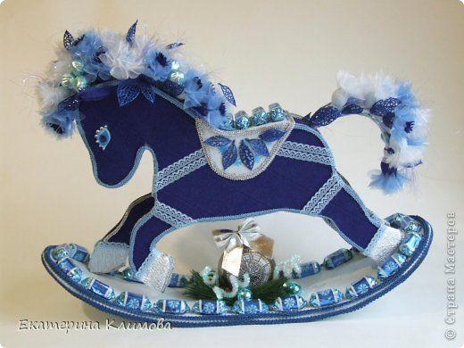 Мастер-класс Свит-дизайн Новый год Моделирование конструирование МК по созданию основы для свит-лошадки фото 1