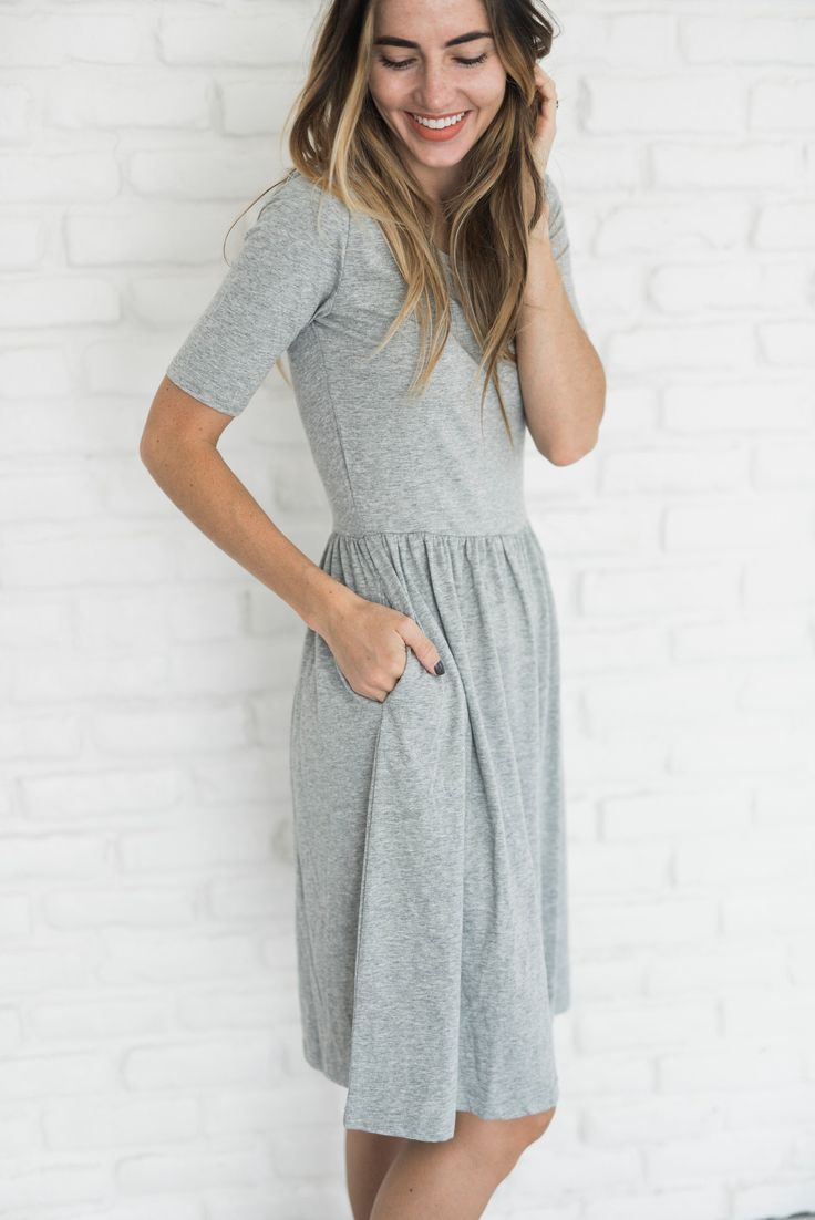 Sometimes the simplest dress makes for the best dress, the pairing possibilities…