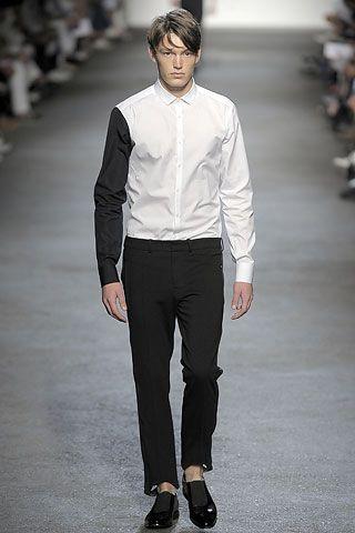 Neil Barrett Spring 2009 Menswear Collection Slideshow on Style.com