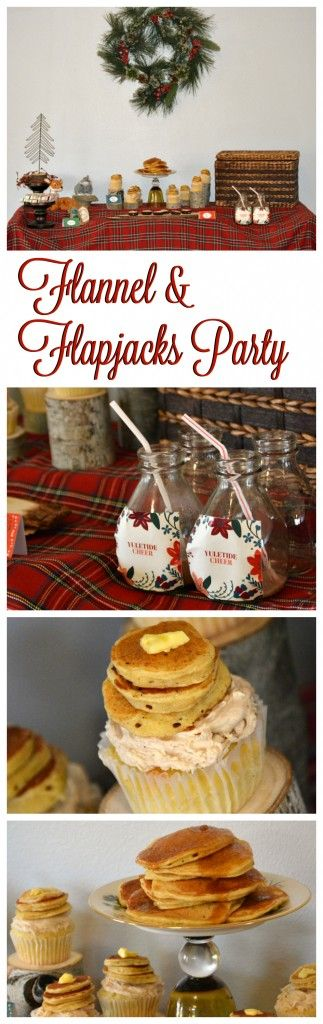 flannel flapjacks christmas party - Youth Christmas Party Decorations