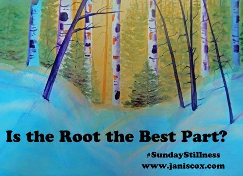 Watercolour painting by Janis Cox Another Sunday Stillness post with Janis looking at Colossians 1:17. Join us.
