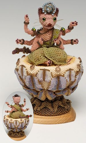 Seed Beaded Sculpture - Fire Mountain Gems and Beads