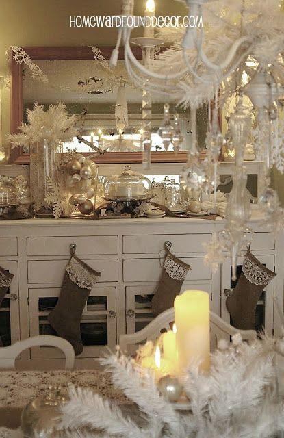 HOMEWARDfound Decor: a Vintage White Christmas