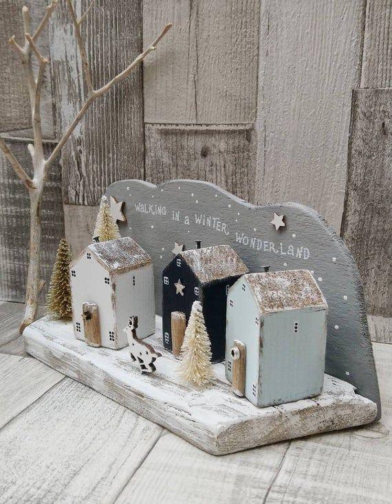 Walking in a Winter Wonderland Driftwood Village H…