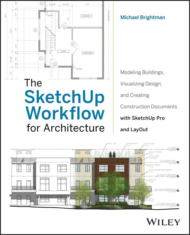 Architecture Design Workflow 01 sketchup / layout / construction documents :: designing in
