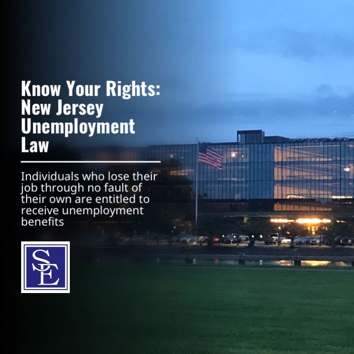 New Jersey Has Recently Amended Its Unemployment Law To Eliminate