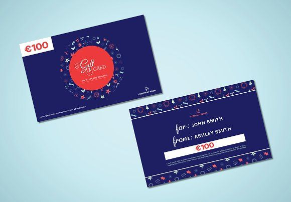 Christmas gift card @creativework247