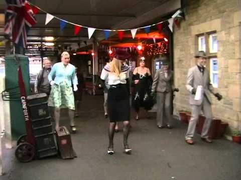 ▶ British Shim Sham Flash Mob danced to Finchley Central by the New Vaudeville Band - YouTube