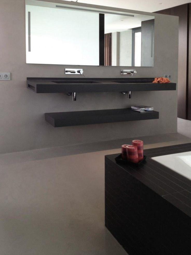 Mueble Baño Microcemento ~ Dikidu.com