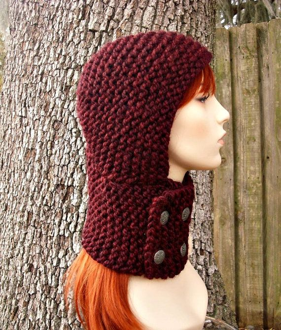 Free Knitting Pattern Pixie Hood : 10+ images about ? Crochet Knit Pixie Hood Hats ? on ...