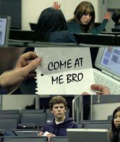 Zuckerberg Note Pass   Know Your Meme