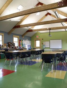 The Eco Schoolhouse At Grant Elementary School In Columbia Missouri Is LEED Leadership