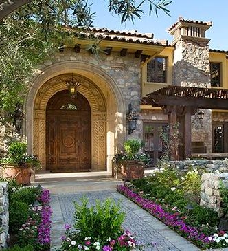 Best 25 Tuscan Style Homes Ideas On Pinterest Mediterranean Homes House And